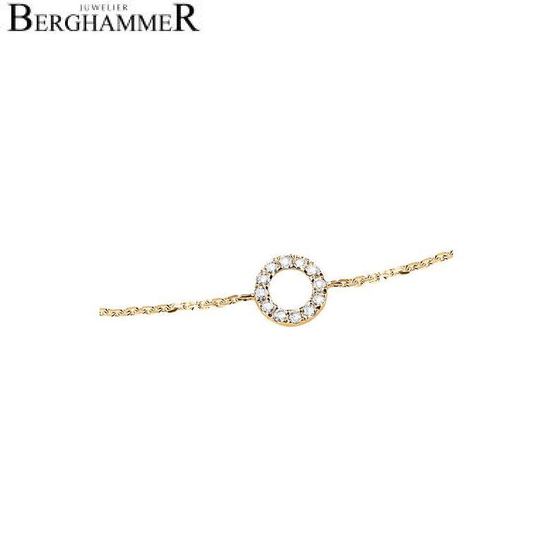Bellissima Armband 18kt Gelbgold 21000105