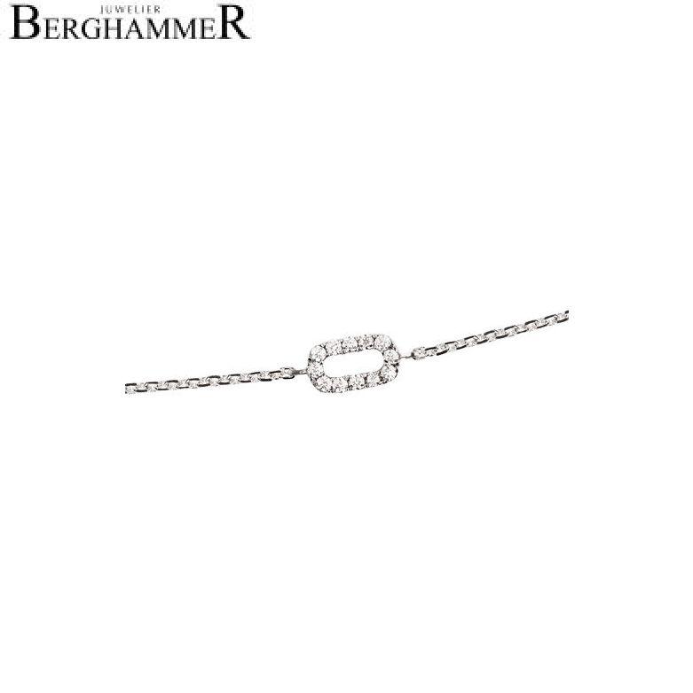 Bellissima Armband 18kt Weißgold 21000119
