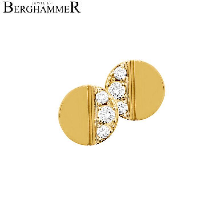 Bellissima Ohrring 18kt Gelbgold 21000202