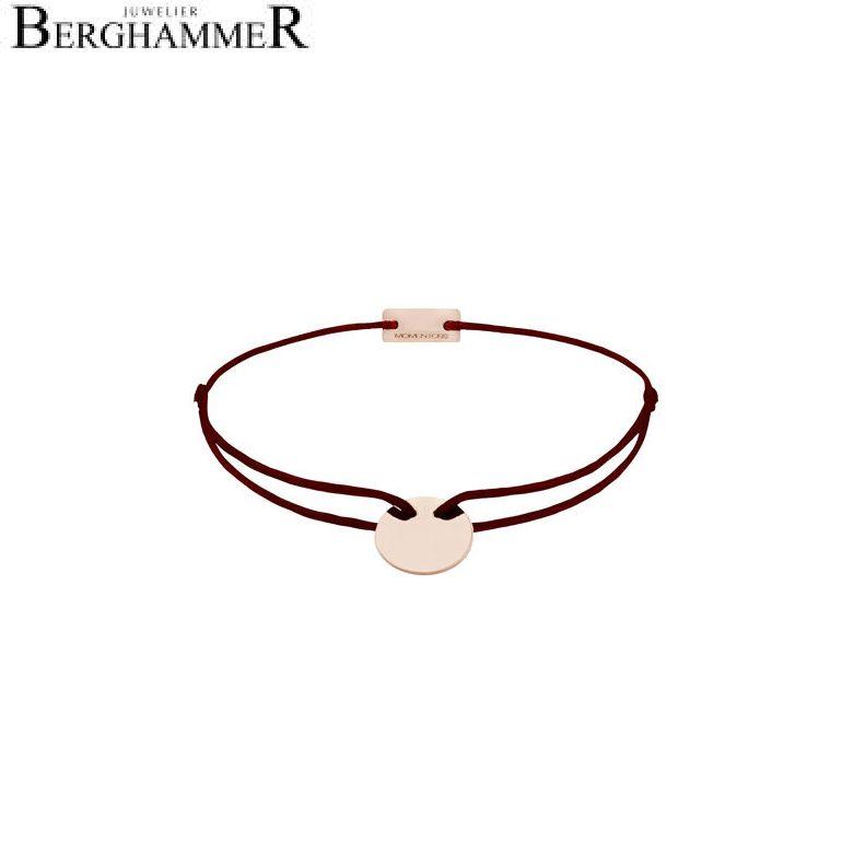 Filo Armband Textil Braun 750 Gold roségold 21200185