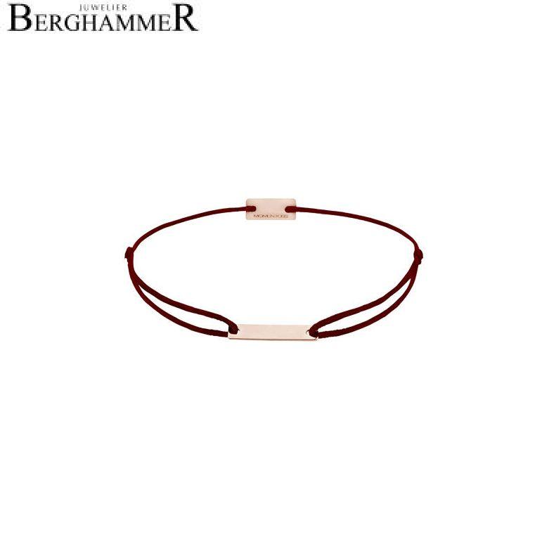 Filo Armband Textil Braun 750 Gold roségold 21200188