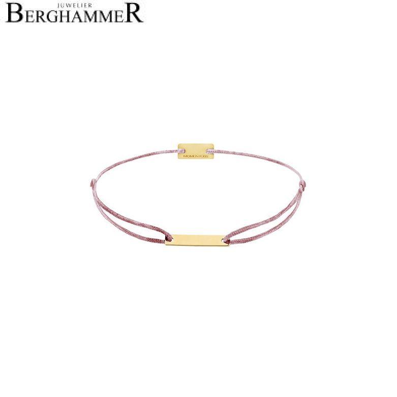 Filo Armband Textil Camel 750 Gold gelbgold 21200552