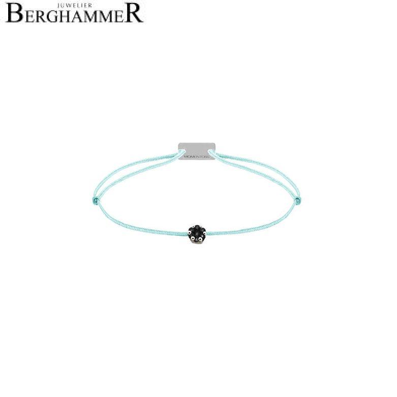 Filo Armband Textil Mint 750 Gold weißgold 21201106