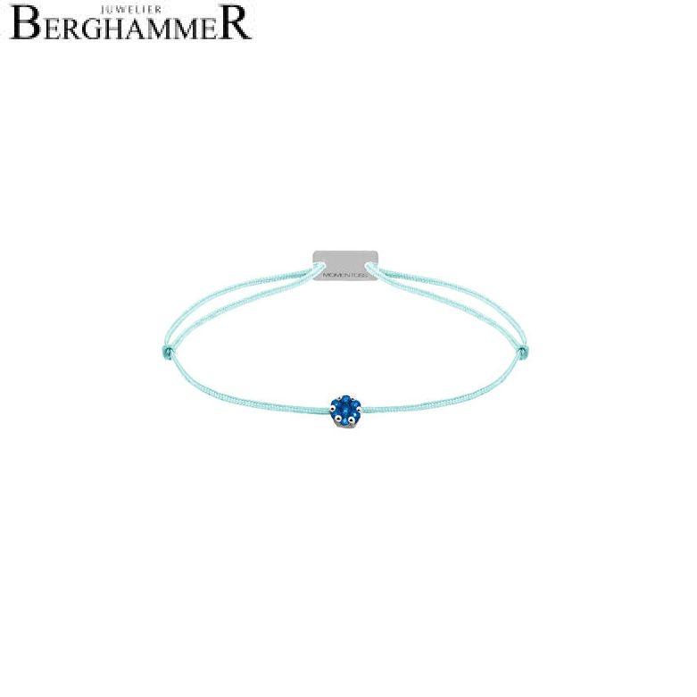 Filo Armband Textil Mint 750 Gold weißgold 21201171