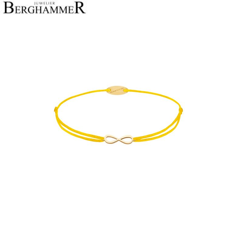 Filo Armband Textil Gelb Infinity 750 Gold gelbgold 21203415