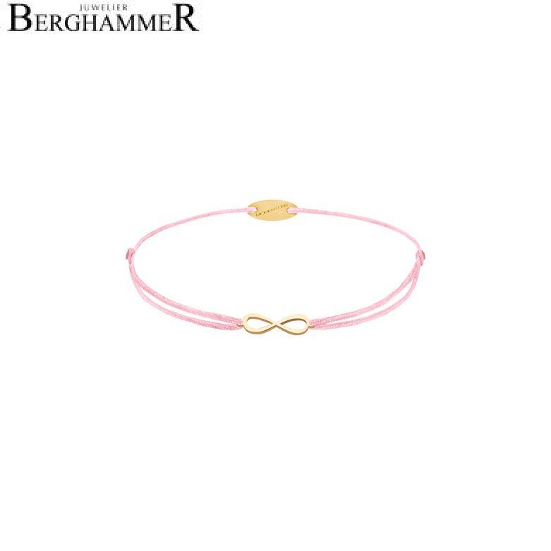 Filo Armband Textil Fuchsia Infinity 750 Gold gelbgold 21203431