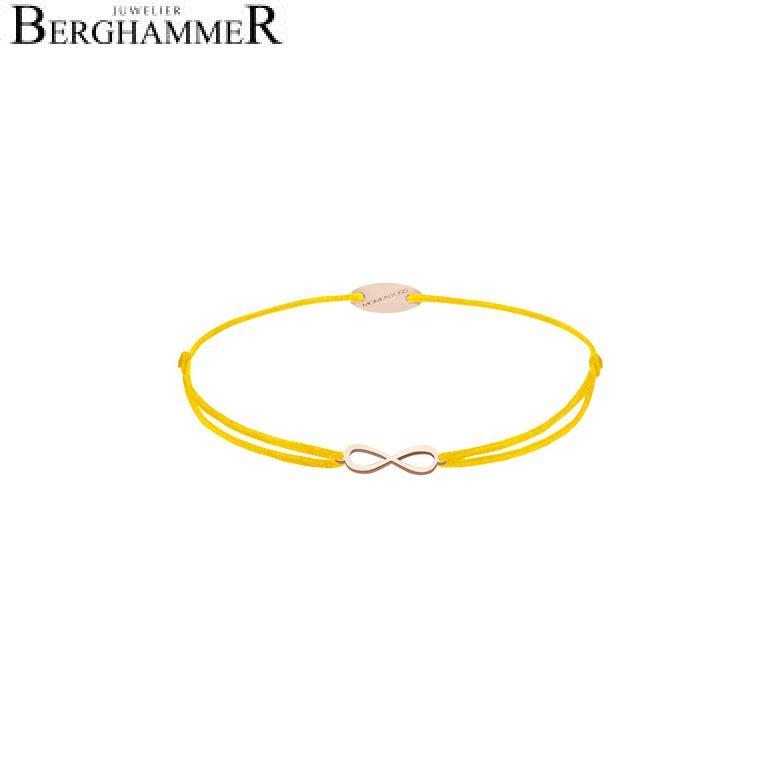 Filo Armband Textil Gelb Infinity 750 Gold UNBEKANNT 21203439