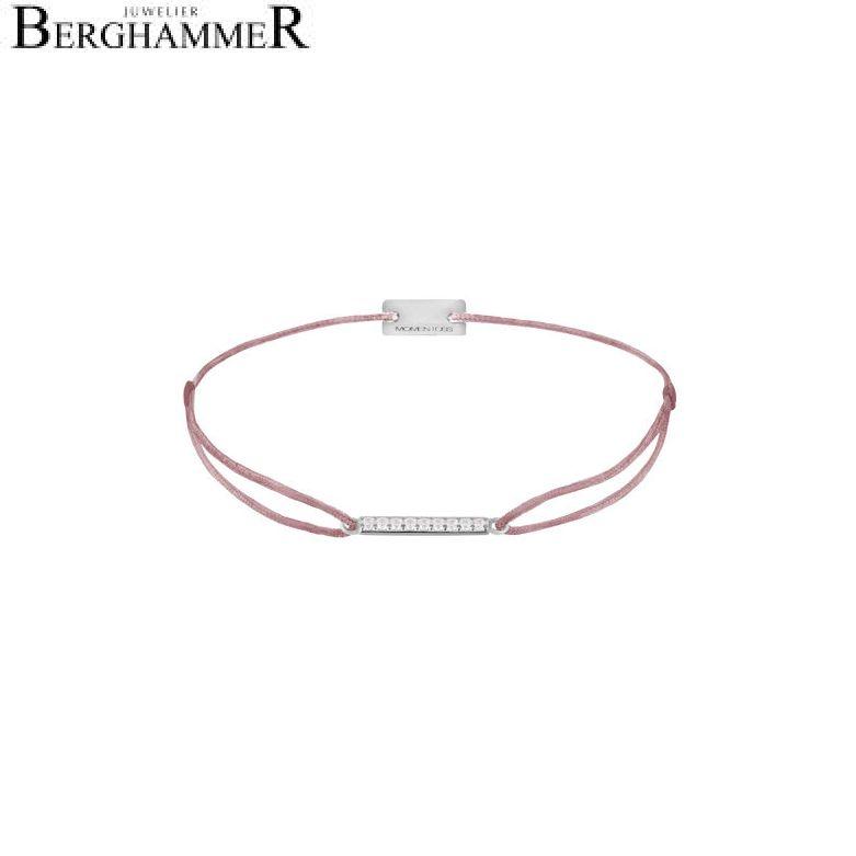 Filo Armband Textil Camel Line 925 Silber rhodiniert 21204512