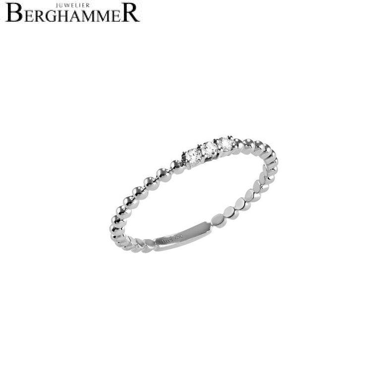 Bellissima Ring 18kt Weißgold 21300103