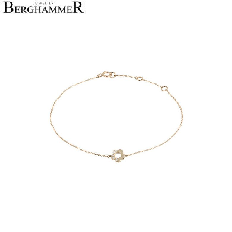 Fiore Armband 14kt Gelbgold 21300131