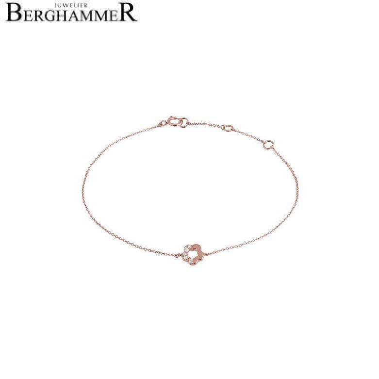 Fiore Armband 14kt Roségold 21300132