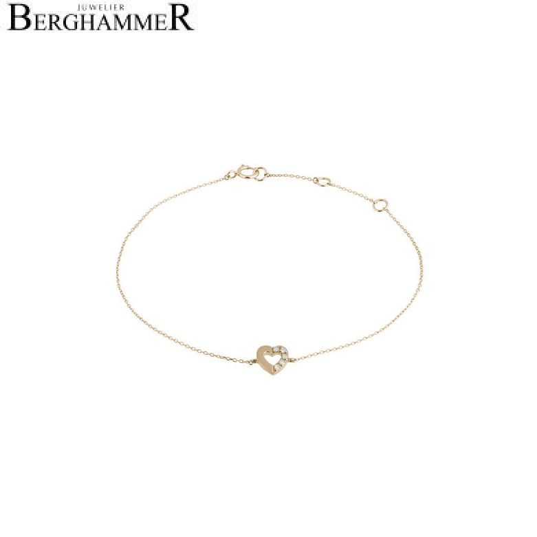 Fiore Armband 14kt Gelbgold 21300134