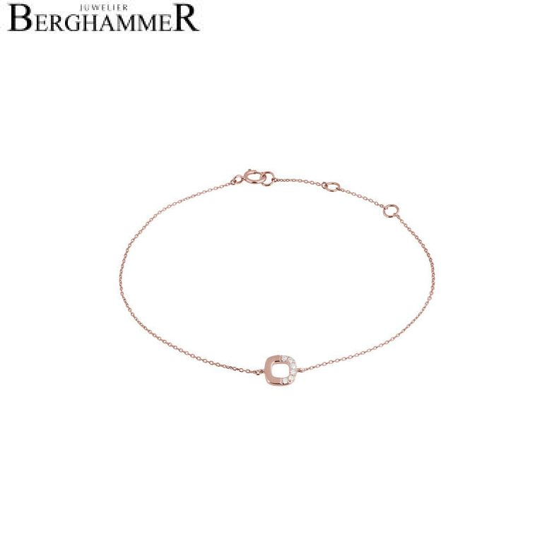 Fiore Armband 14kt Roségold 21300138