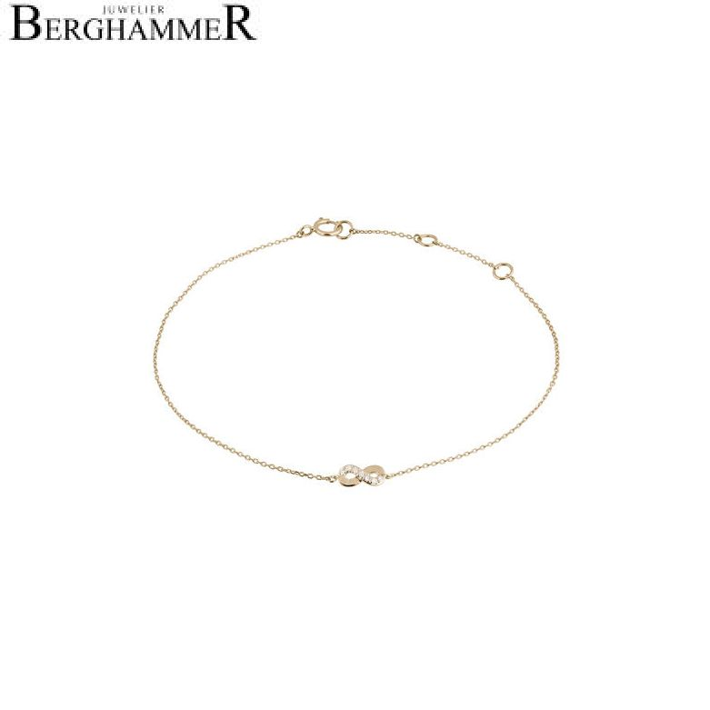 Fiore Armband 14kt Gelbgold 21300140
