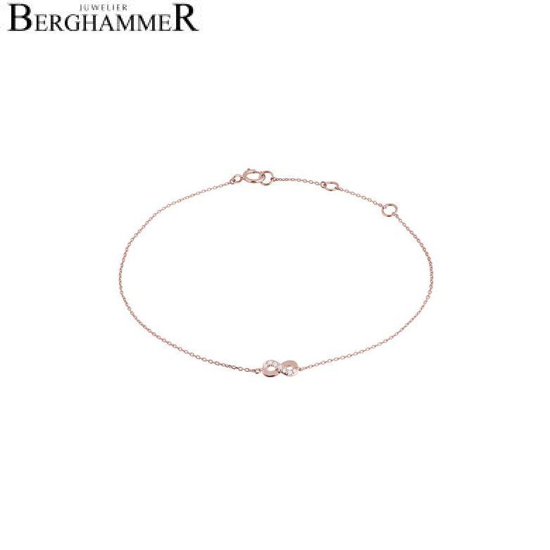 Fiore Armband 14kt Roségold 21300141