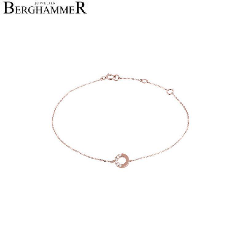 Fiore Armband 14kt Roségold 21300144