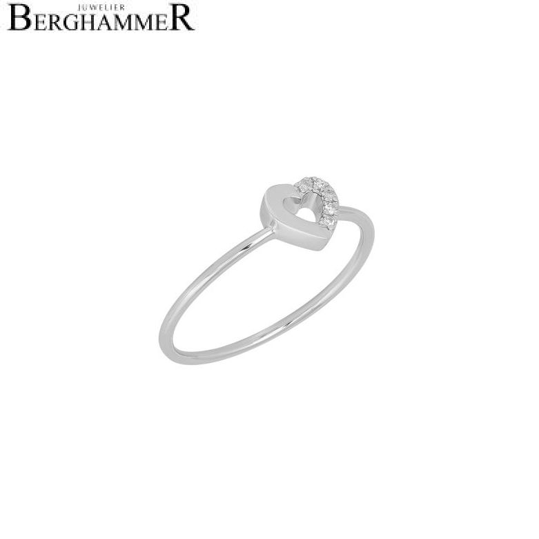 Fiore Ring 14kt Weißgold 21300163