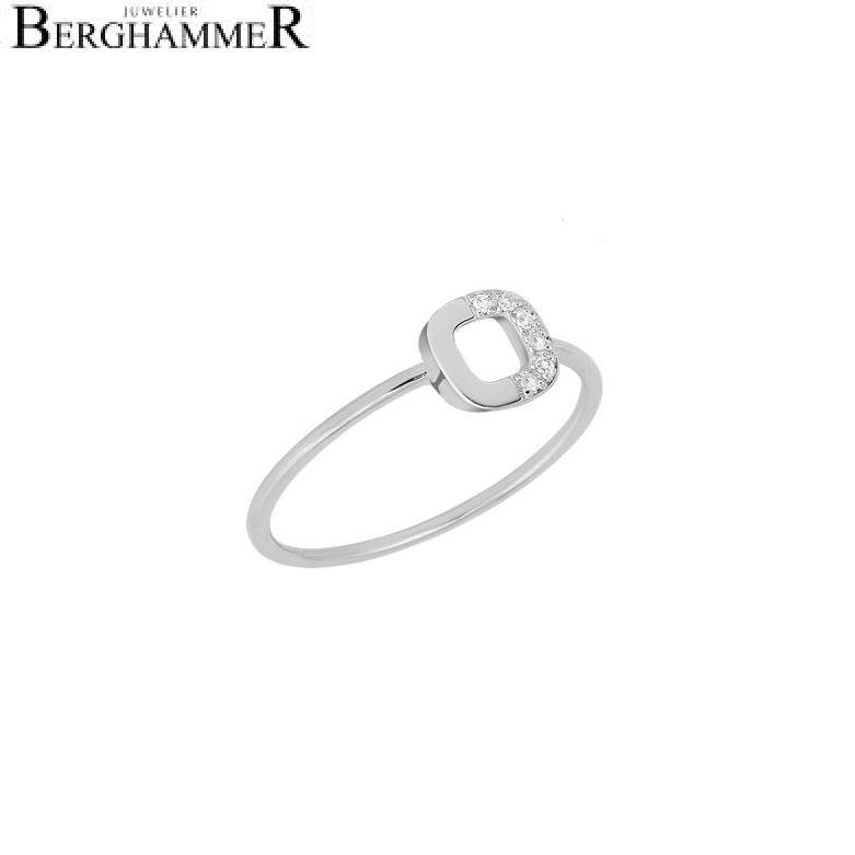 Fiore Ring 14kt Weißgold 21300166