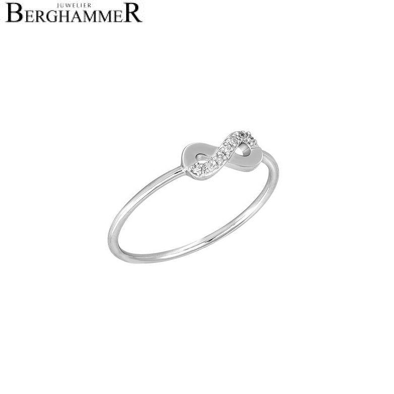 Fiore Ring 14kt Weißgold 21300169