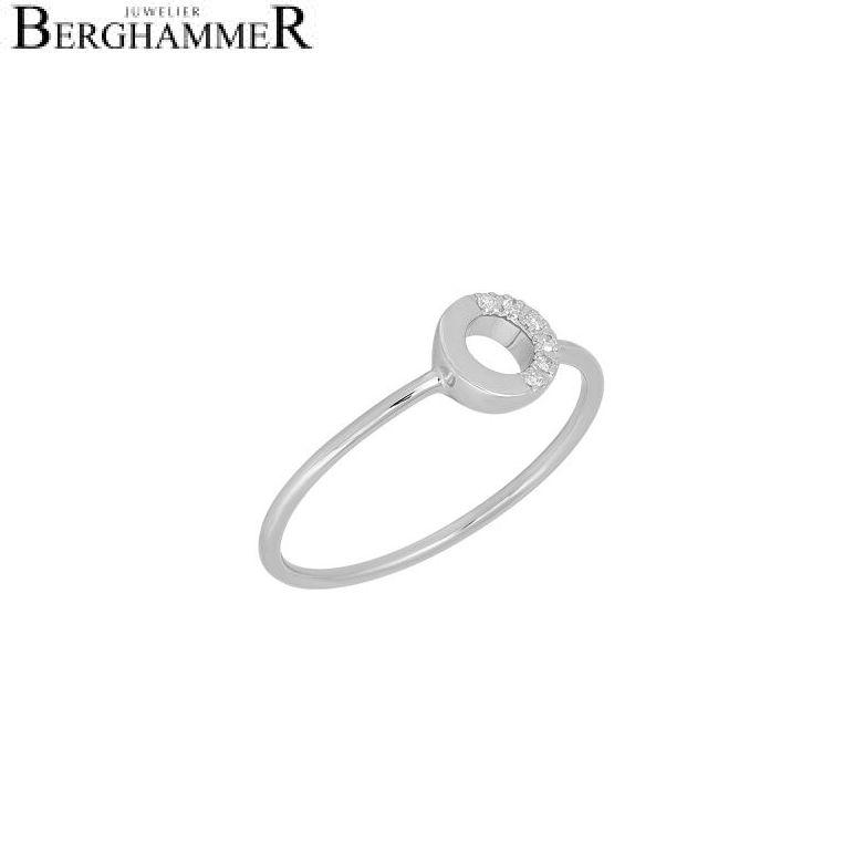 Fiore Ring 14kt Weißgold 21300172