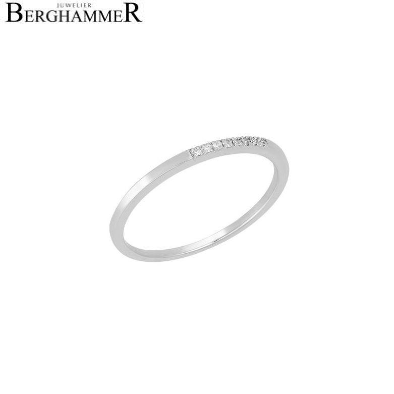 Fiore Ring 14kt Weißgold 21300175