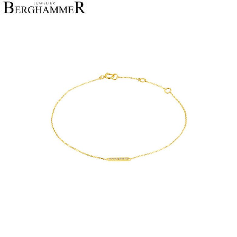 Fiore Armband 14kt Gelbgold 21300194
