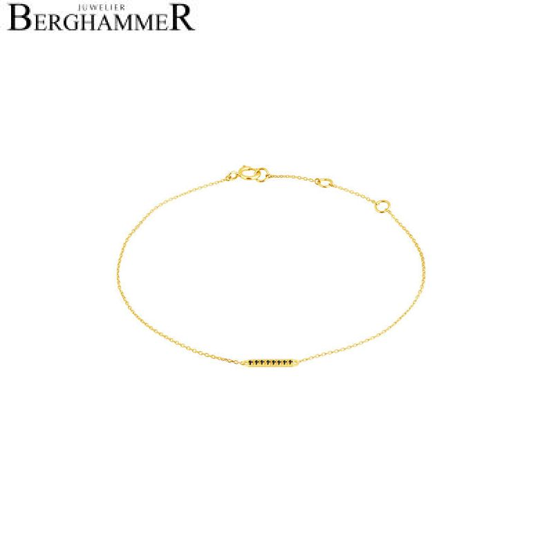 Fiore Armband 14kt Gelbgold 21300197