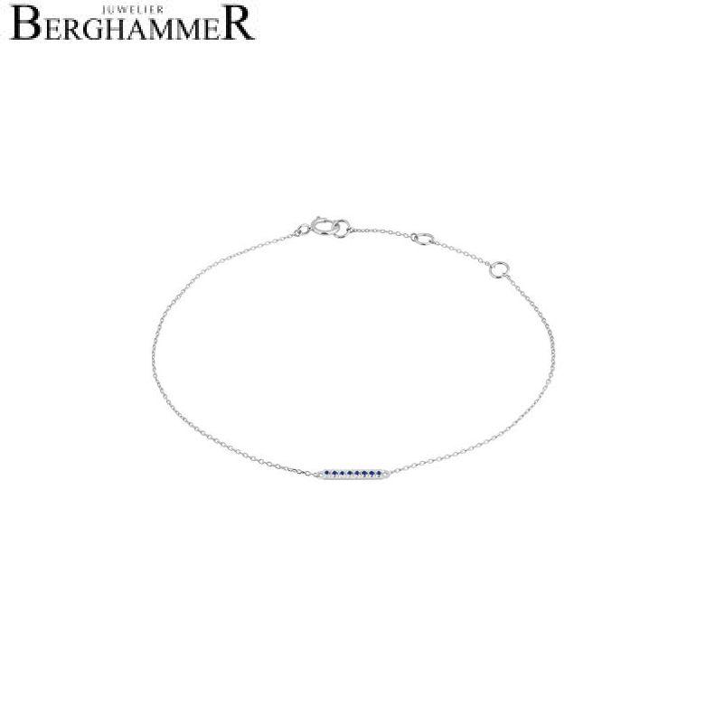 Fiore Armband 14kt Weißgold 21300199