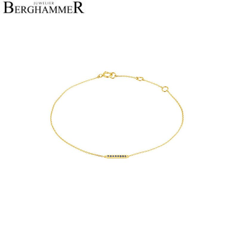 Fiore Armband 14kt Gelbgold 21300200