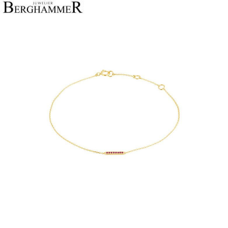 Fiore Armband 14kt Gelbgold 21300203