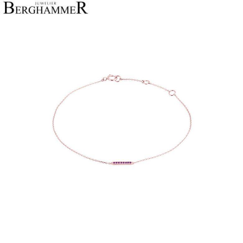 Fiore Armband 14kt Roségold 21300204