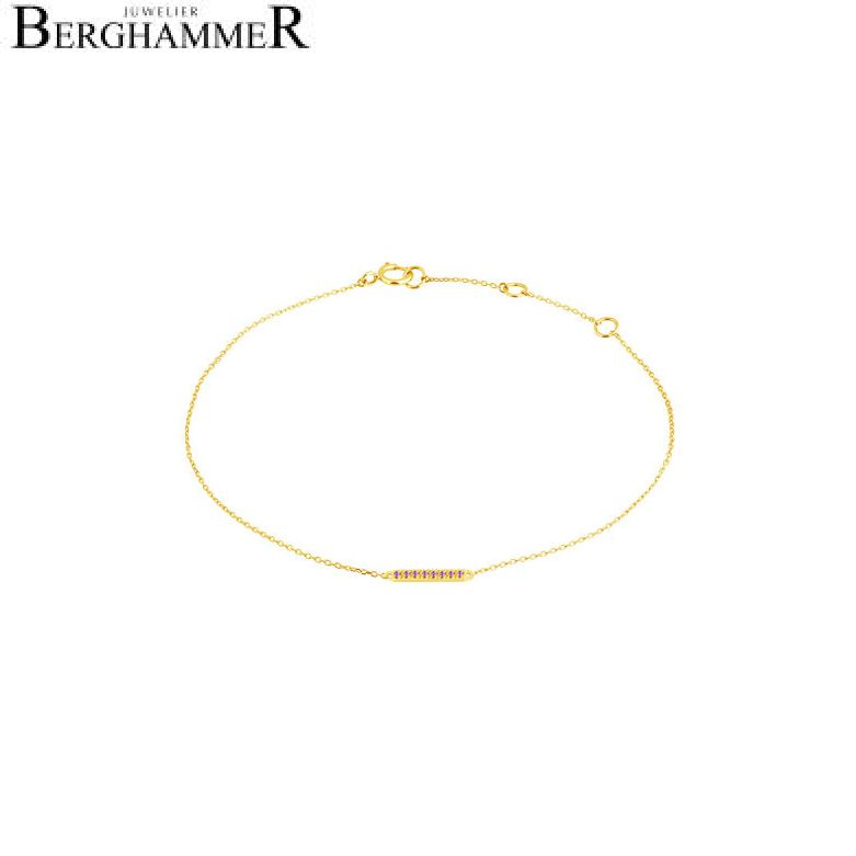 Fiore Armband 14kt Gelbgold 21300206