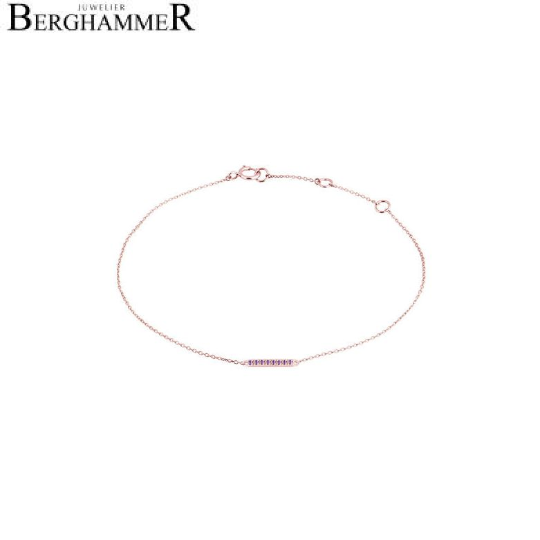 Fiore Armband 14kt Roségold 21300207