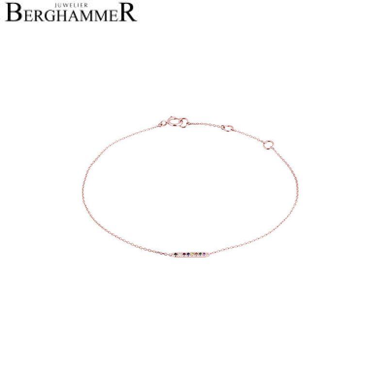 Fiore Armband 14kt Roségold 21300210