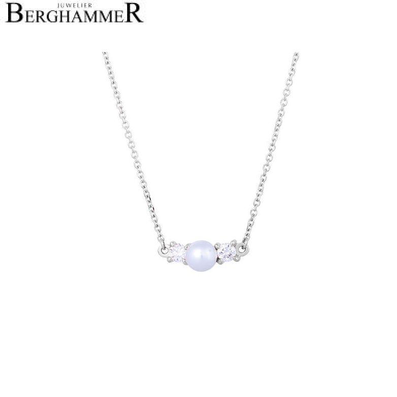 Bellissima Halskette 18kt Weißgold 21300217