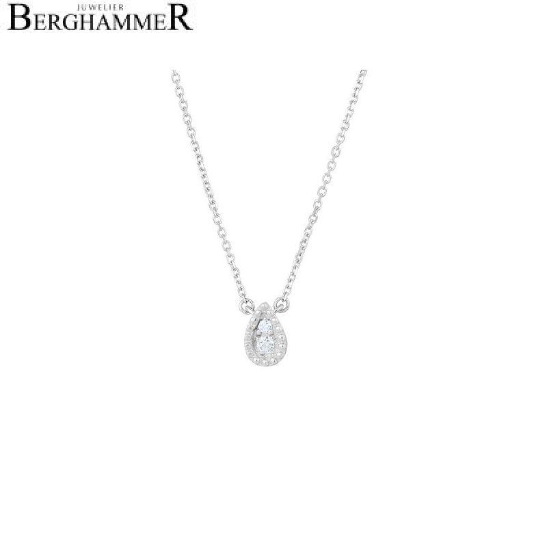 Bellissima Halskette 18kt Weißgold 21300241