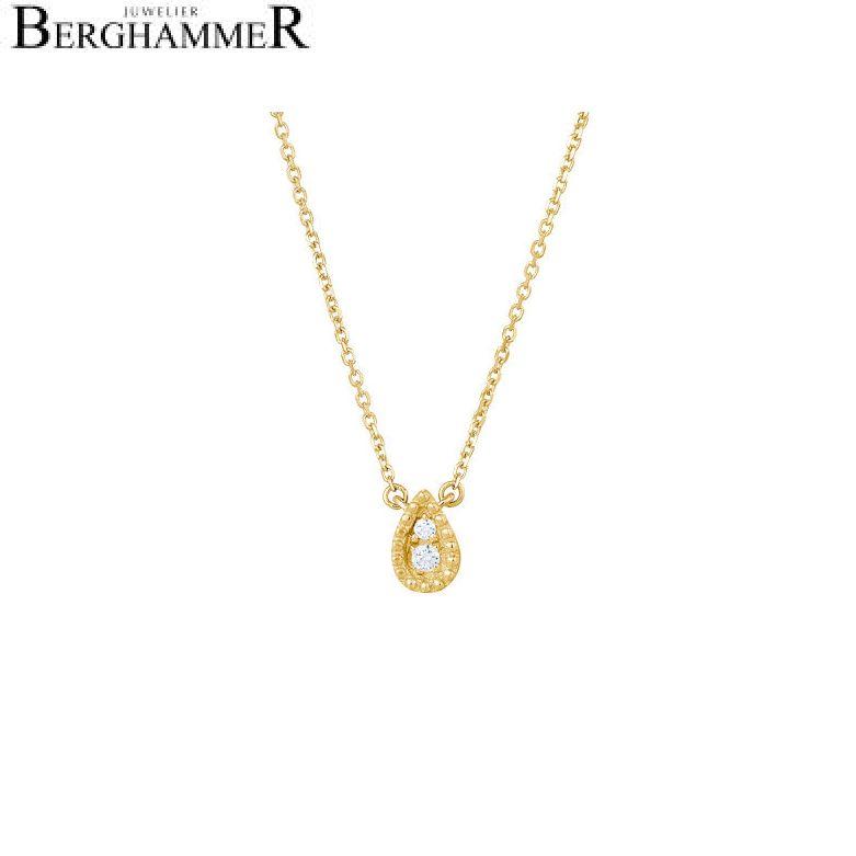 Bellissima Halskette 18kt Gelbgold 21300242