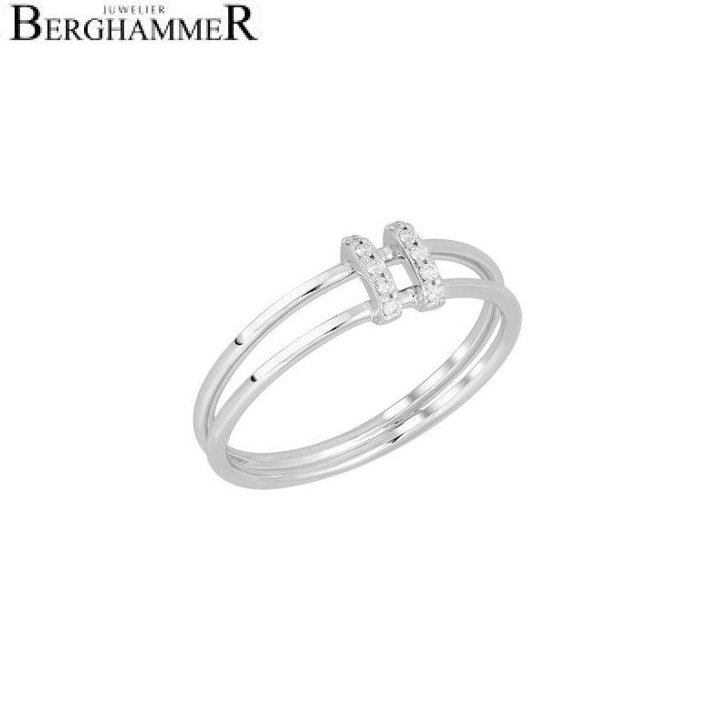 Bellissima Ring 18kt Weißgold 21300247
