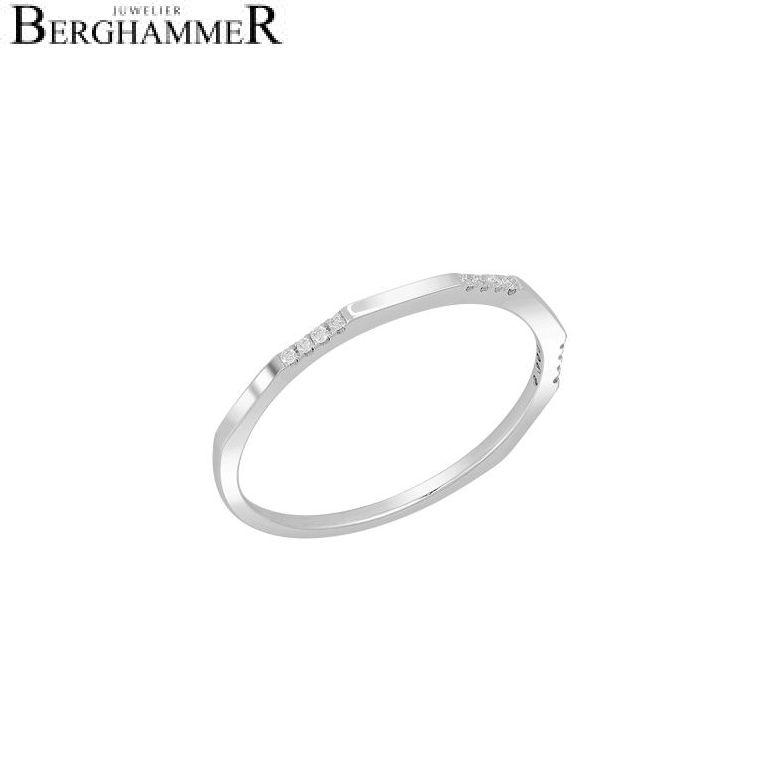 Bellissima Ring 18kt Weißgold 21300250