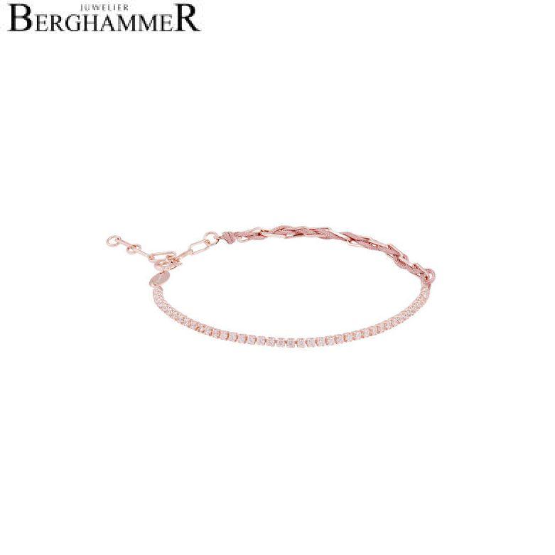 Unico Armband Camel Zirkonia weiß 925 Silber roségold vergoldet 21700028