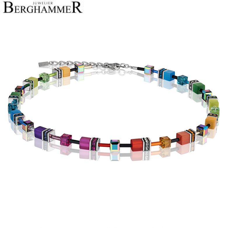 GeoCUBE® Halskette multicolor rainbow