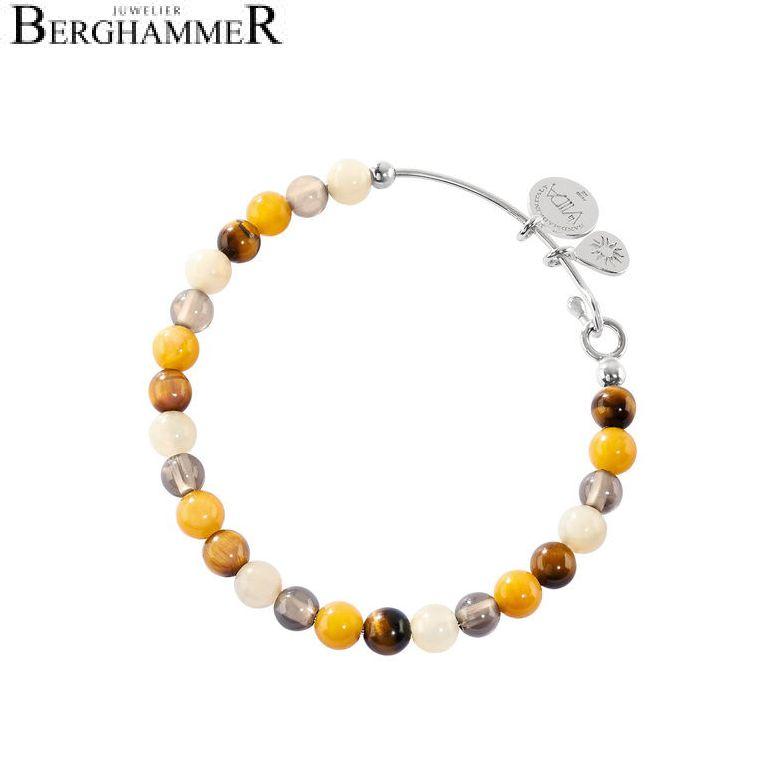 LaViida Armreif Orange-braun AL4008RH