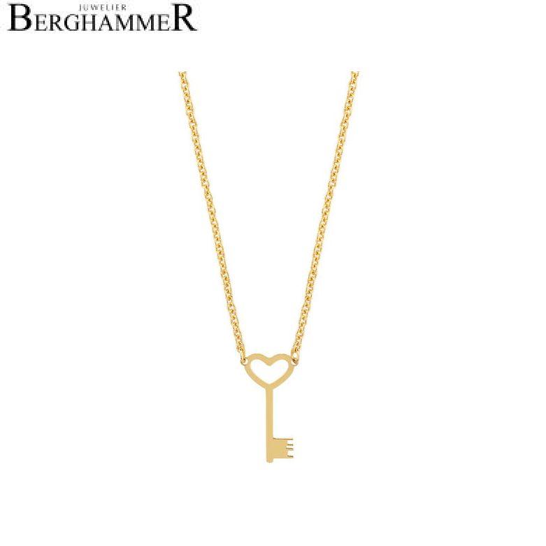 LaViida Halskette Schlüssel NSI303GG