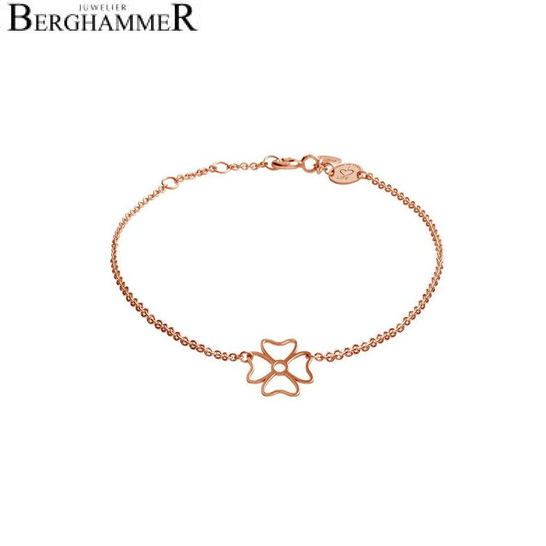 LaViida Armband Kleeblatt BSI306RG