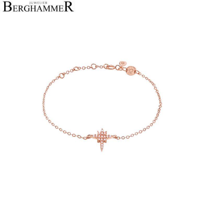 LaViida Armband Polarstern 925 Silber roségold vergoldet BLU605RG