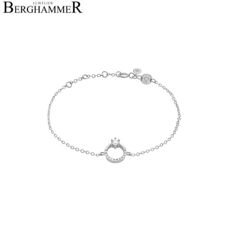 LaViida Armband Princess 925 Silber rhodiniert BLU611RH