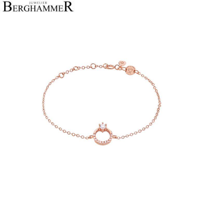 LaViida Armband Princess 925 Silber roségold vergoldet BLU611RG