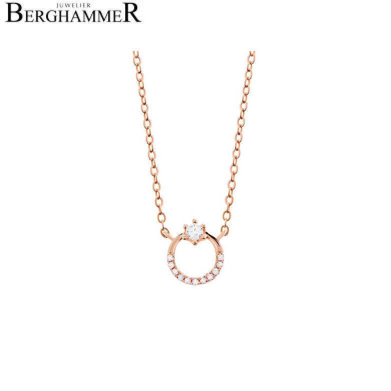LaViida Halskette Princess 925 Silber roségold vergoldet NLU611RG
