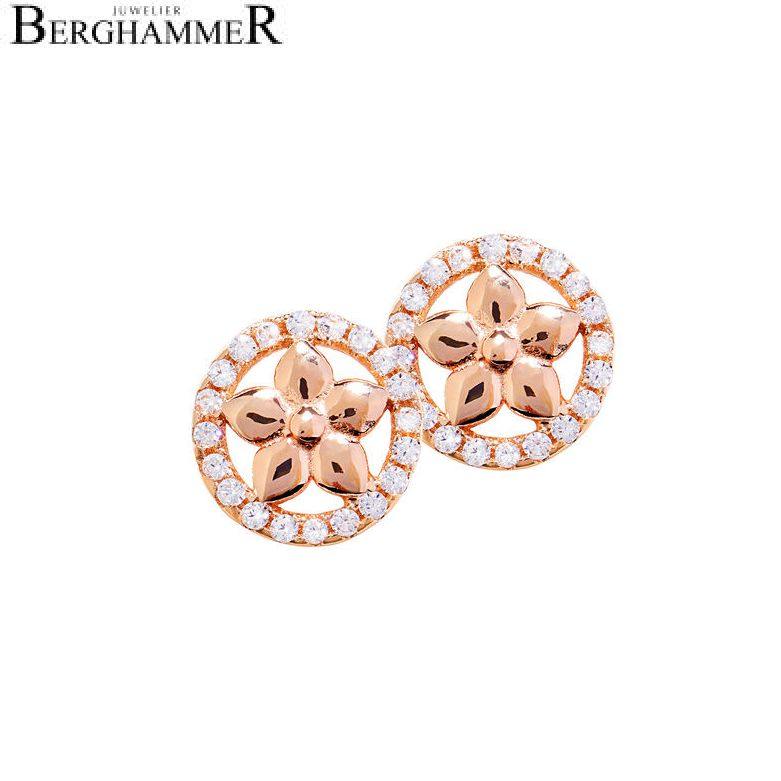 LaViida Ohrschmuck Blume 925 Silber roségold vergoldet ELU613RG 40400070