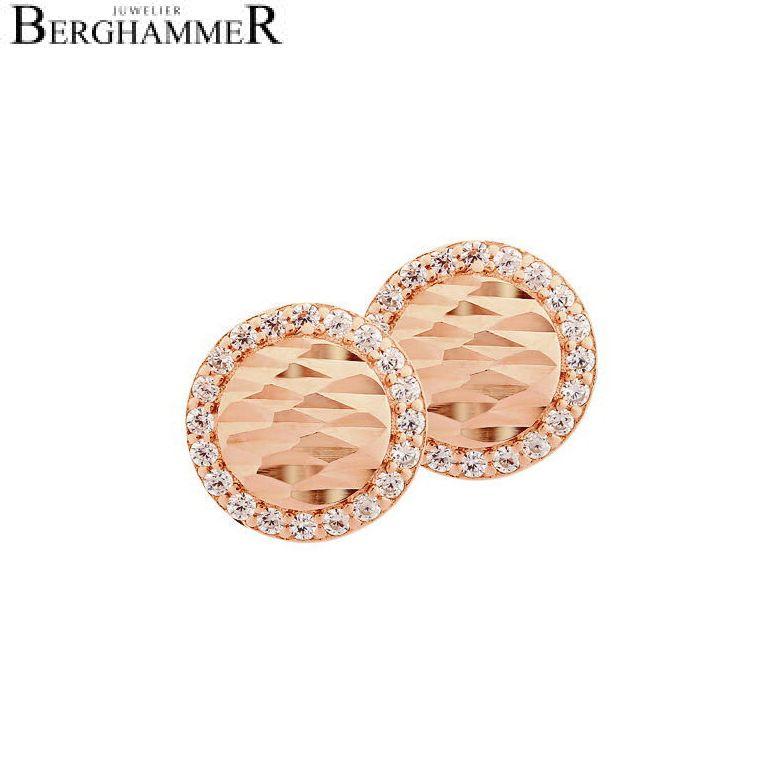 LaViida Ohrschmuck Shine 925 Silber roségold vergoldet ELU623RG 40500010